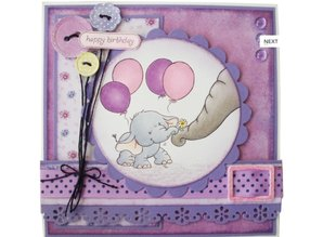 Wild Rose Studio`s A7 stamp set with Bella Mama