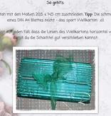 BASTELZUBEHÖR / CRAFT ACCESSORIES Bølgepap, grove, A5, 10 ark