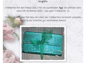 BASTELZUBEHÖR / CRAFT ACCESSORIES Cartone ondulato, grossolana, A5, 10 fogli