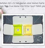 BASTELZUBEHÖR / CRAFT ACCESSORIES Corrugated cardboard, coarse, A5, 10 sheets