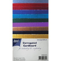 Golfkarton in mooie kleuren