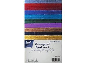 BASTELZUBEHÖR / CRAFT ACCESSORIES El cartón ondulado en grandes colores