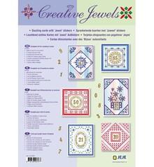 Exlusiv Materialset: Jubiläum / Set für 6 leuchtenden Wünschkarten