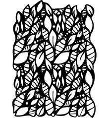 Pronty A4 template, 297 x 210mm - Leaves, leaves