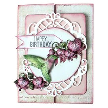 Heartfelt Creations aus USA Rubber Stamp, 3 motifs Romantique Wings
