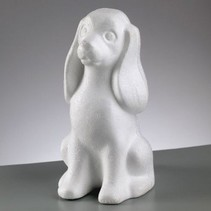 Styrofoam shape, Dog, 240 mm,