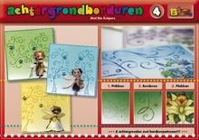 Bücher und CD / Magazines Un libro con 16 colore di sfondo con ricami!
