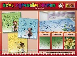 Bücher und CD / Magazines En bog med 16 farver baggrunden med broderi!