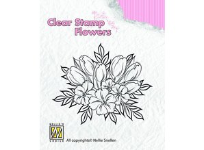 Nellie snellen Clear stamps, flowers