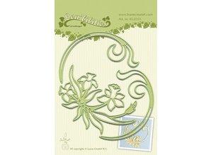 Leane Creatief - Lea'bilities Lea'bilitie® Narcissus & Swirls embossing and cutting template