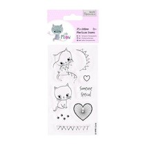 Clear stamps, cute kitten, Little Meow - Someone Special