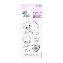 Timbri trasparenti, simpatico gattino, Little Meow - Someone Special