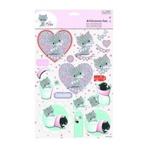A4 Decoupage Pack - Little Meow - Vrienden