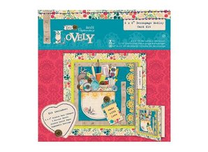 Docrafts / Papermania / Urban Medley Decoupage Card Kit - Sew Lovely