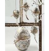 Embellishments / Verzierungen Perlhuhnfedern , ca. 100 Stck., natur, 3 g