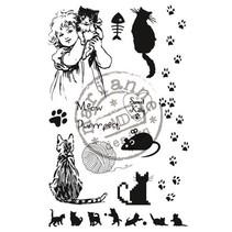 Transparent Stempel, sweet Kitty
