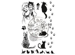 Marianne Design Klare stempler, søde Kitty