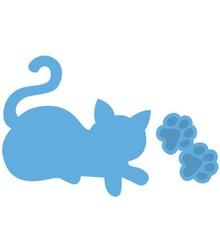 Marianne Design Prægning og udskæring mat, kat