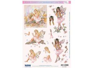 BASTELSETS / CRAFT KITS: 3d schede Bastelset Fantasy Fairies