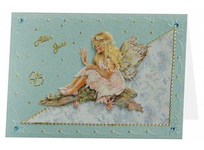 BASTELSETS / CRAFT KITS: Bastelset Fantasy Fairies 3D sheets