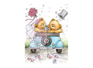 Wild Rose Studio`s A7 stamp set Just Married
