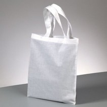 Tote cotton, short handle, to paint, stamp on and much more