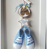 Marianne Design Skæring og prægning stencils Creatables - Mine første sneakers