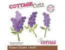 Cottage Cutz CottageCutz Flower Cluster (4x4), blomster