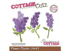 Cottage Cutz CottageCutz Flower Cluster (4x4), flowers