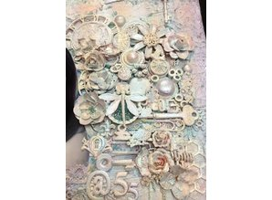 Embellishments / Verzierungen Vintage mechanicals - trinket pins