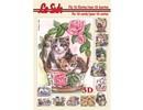 Bücher und CD / Magazines 3D Buch A5, KATZEN