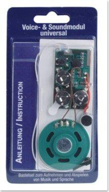 KARTEN und Zubehör / Cards Voice / sound installation module Universal