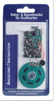 KARTEN und Zubehör / Cards Voice / Sound Module for Greeting Cards