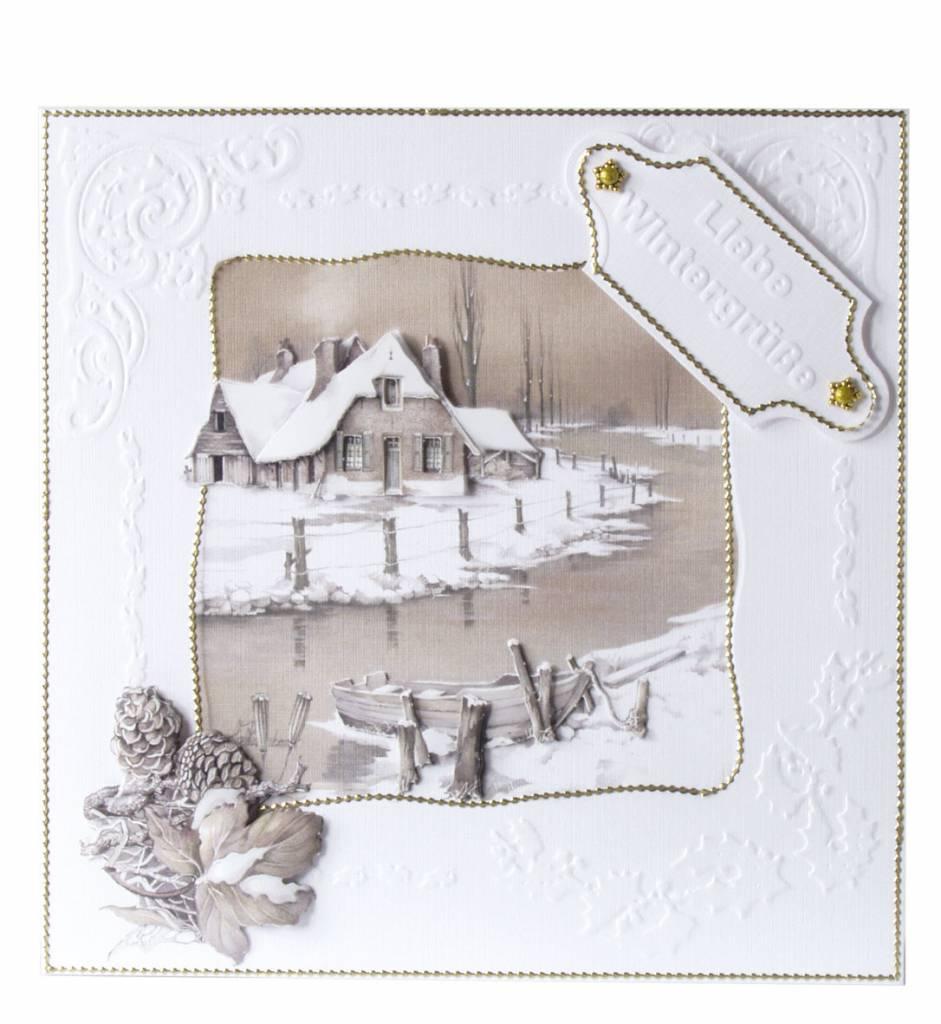 bastelset zaunkarten rosen hobby crafts and paperdesign. Black Bedroom Furniture Sets. Home Design Ideas