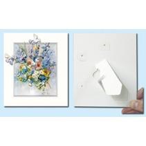 Passepartout f. Kunstkarten, 3 Stück im Set