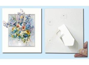 Exlusiv Passepartout f. Art cards, 3 in a set