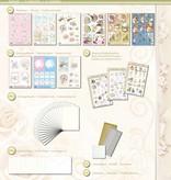 BASTELSETS / CRAFT KITS: 3D Bastelmappe, für 19 Karten, Bilderkarten und 3D Stanzbogen zu festliche Anlässe.