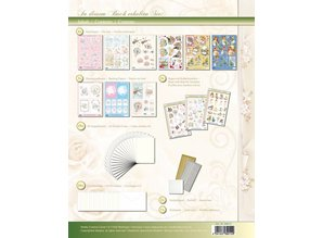 BASTELSETS / CRAFT KITS: 3D Work folder for 19 maps, images and 3D Die cut cards to festive occasions.