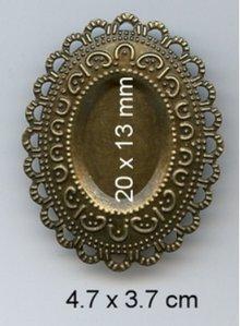 Embellishments / Verzierungen Incanta, 3 pezzi
