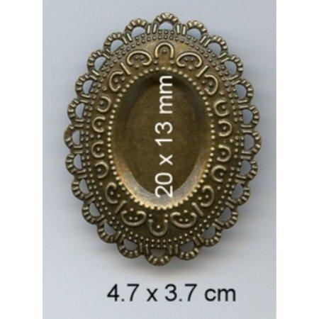 Embellishments / Verzierungen Charme, 3 stk