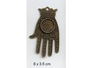 Embellishments / Verzierungen Charme, 1 stk