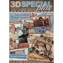 """3D boek """"Special"""" - Speciale 3D-plus, Vintage, No.49"""