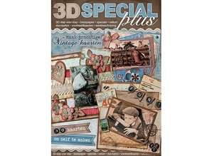 "Bücher und CD / Magazines 3D book ""Special"" - Special 3D plus, Vintage, No.49"