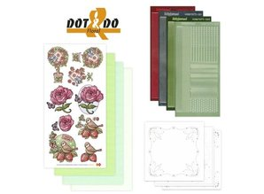 Sticker Sticker Craft Kit: Dot & Do, flowers