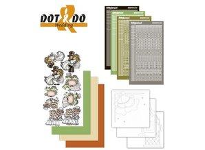 Sticker Sticker Craft Kit: Dot & Do, Bryllup