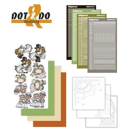Sticker Etiqueta Craft Kit: Dot y Do, Boda