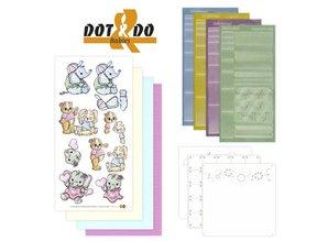 Sticker Sticker Bastelset: Dot & Do, Baby Tiere