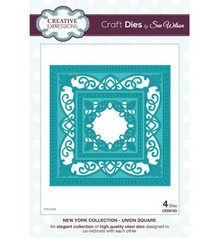 Creative Expressions Stamping and embossing stencil, New York Collection, noble frame rectangle