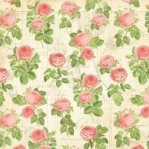 """Designer Paper """"Botanisk Tea - Flora"""", 30,5 x 30,5 cm"""