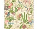 """Graphic 45 Designer Paper """"Tea Botanico - Primavera Duet"""", 30,5 x 30,5 cm"""